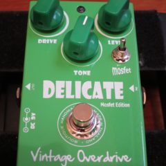 Pedal Tank – Delicate Vintage Overdrive