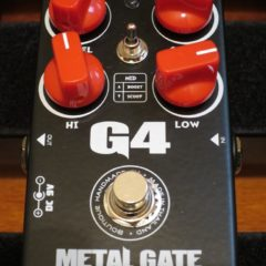 Pedal Tank – G4 Distortion
