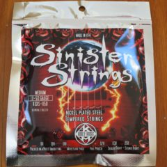Kerly Music – Sinister Nickel Strings Low Tune MED 11-50