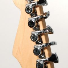 GUITAR TUNER UPGRADE KIT 6 IN LINE GRIP-LOCK OPEN CHROME