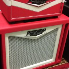 Jackson Ampworks – 1×12 DUAL PORTED CABINET (Red/Ivory)